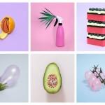 Vanessa Mckeown e la sua colorata food art