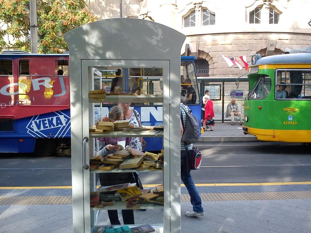 Bookcrossing_Poznan_ul._Fredry