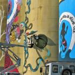 Microbo, la street art e i silos di Catania