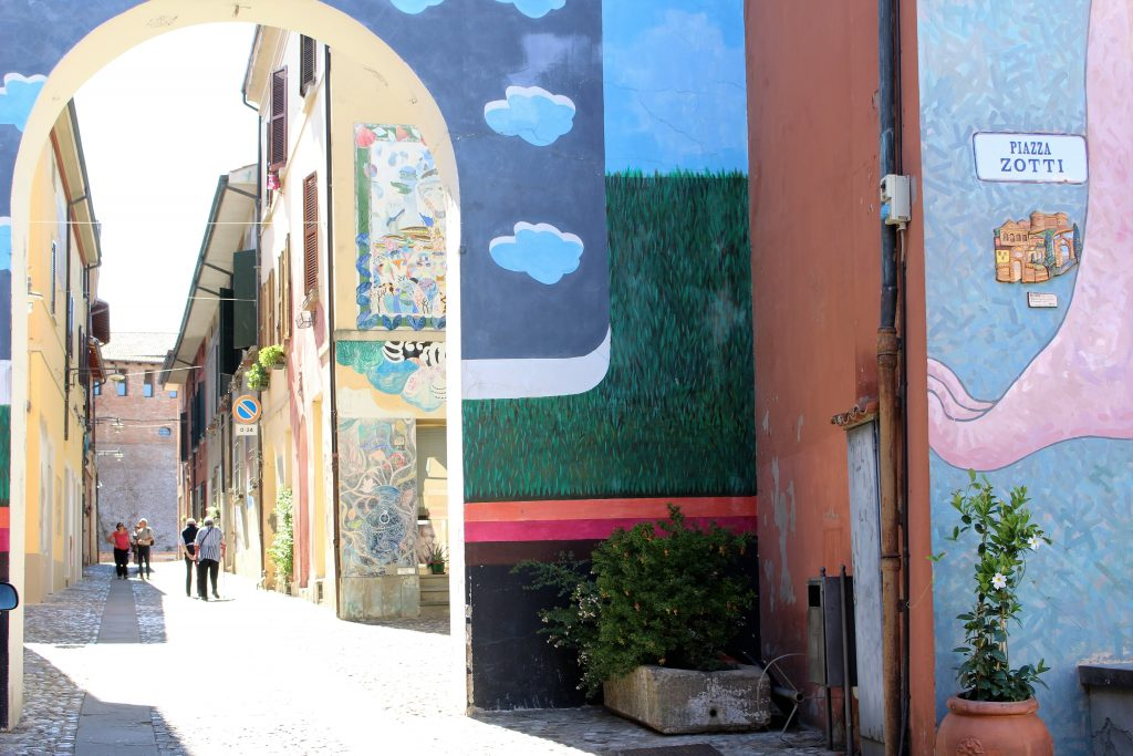 street art di dozza