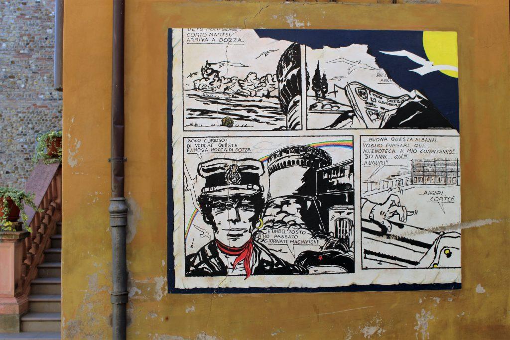 street art di dozza