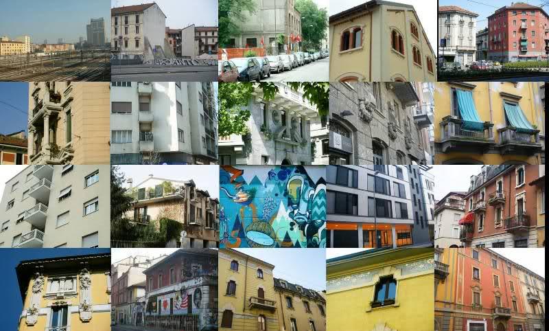 architettura e street art a milano