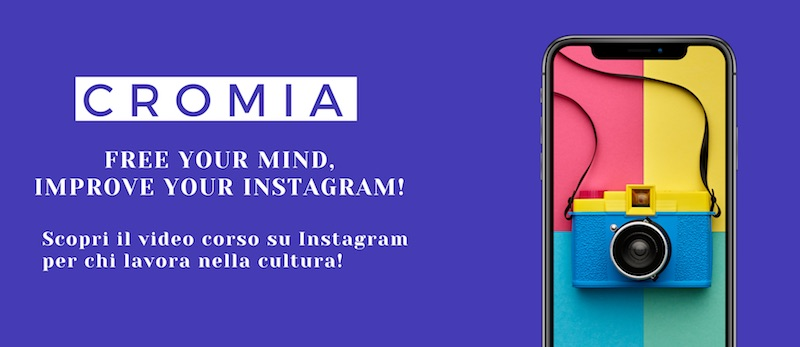 Corso instagram per la cultura