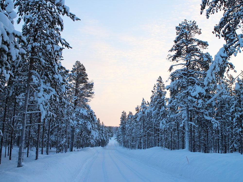 non vedere l'aurora boreale in finlandia