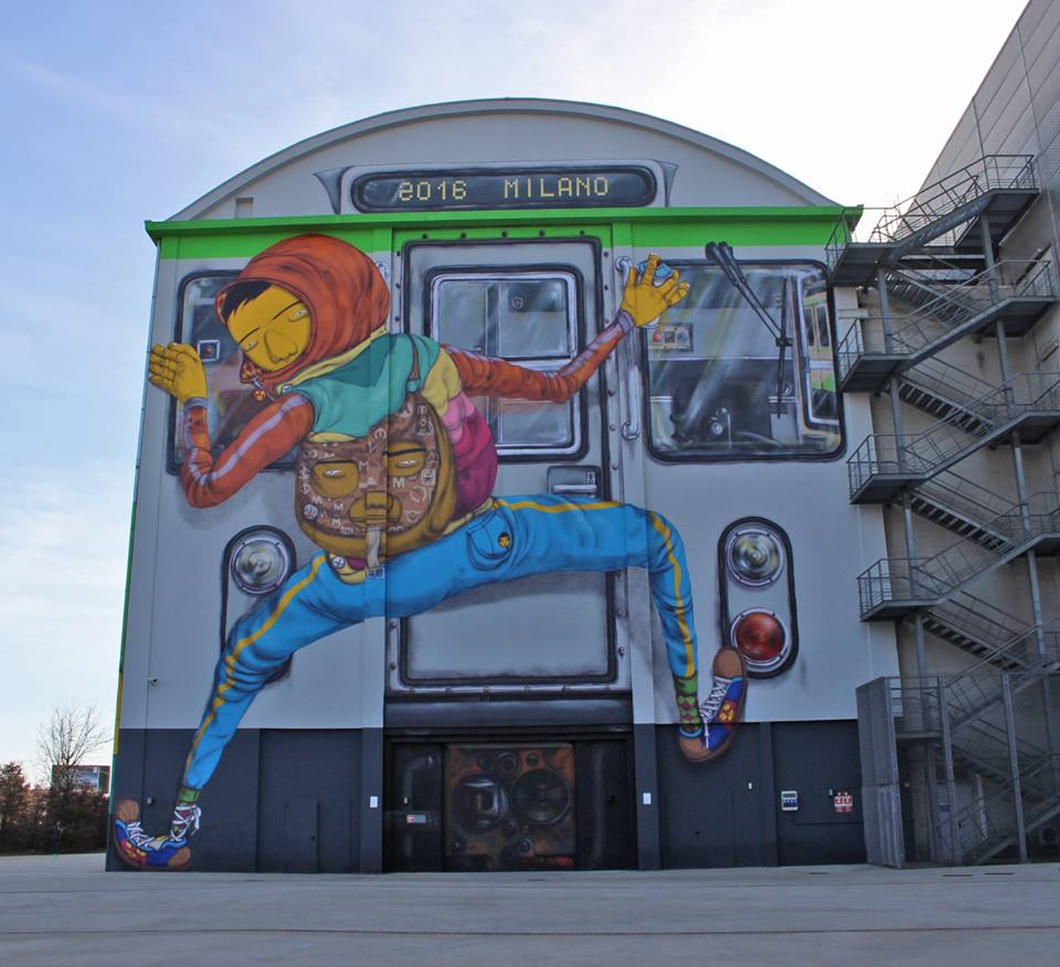 os gemeos street art bicocca