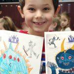 The Monster Project: quando gli scarabocchi dei bambini diventano capolavori