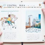 Yoshie Kondo e i suoi taccuini di viaggio illustrati