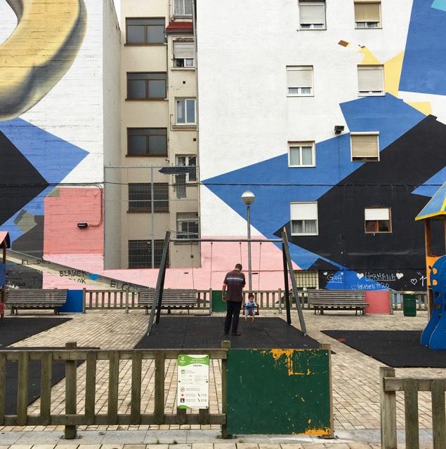 bilbao e l'arte urbana