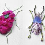 Raku Inoue e la nuova vita dei suoi meravigliosi insetti floreali