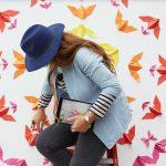 Mademoiselle Maurice: quando la street art si traveste da origami