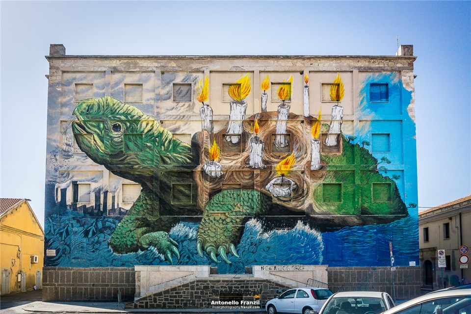 street artist italiani ericailcane