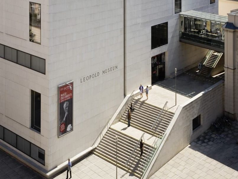 leopold museum vienna copertina