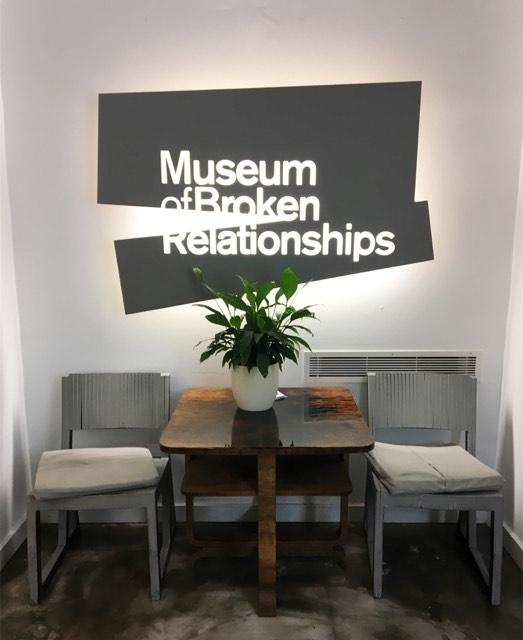 museo delle relazioni interrotte a zagabria ingresso