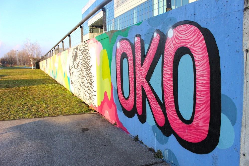 museo di arte contemporanea zagabria street art