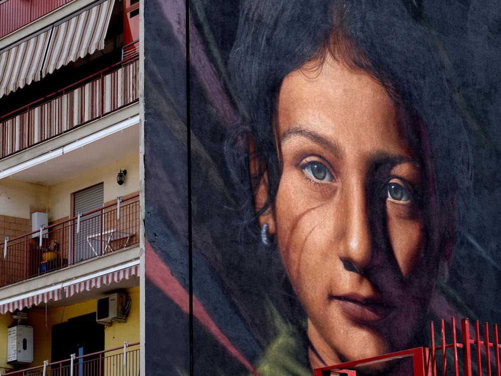 parco dei murales di napoli