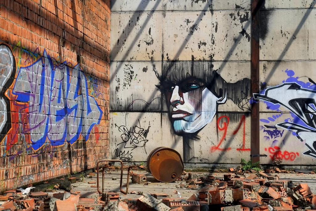 street art ad anversa doel