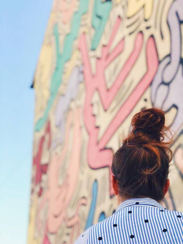 street art a pisa keith haring