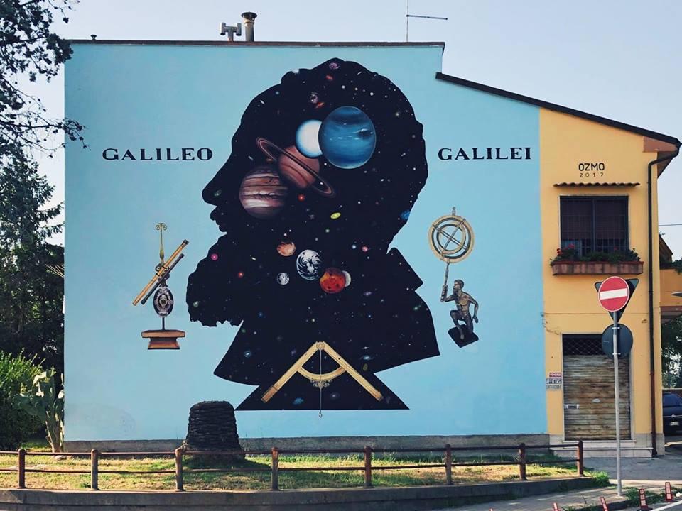 street art a pisa ozmo