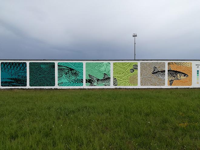 street art a comacchio opere