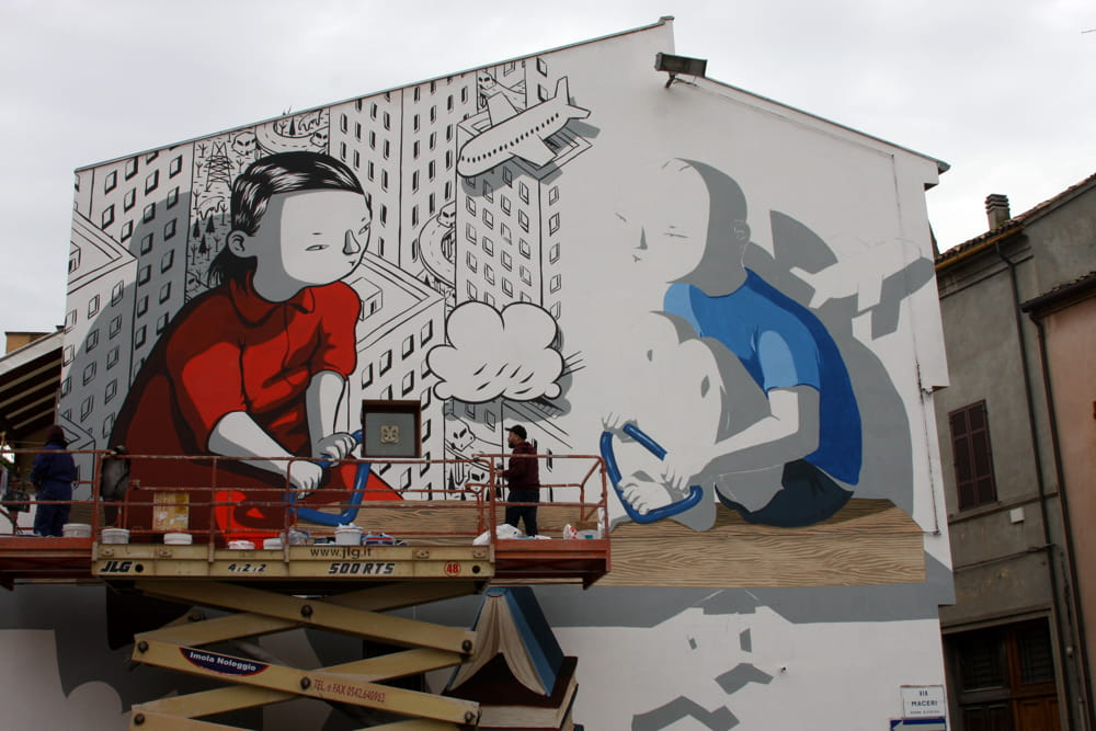festival di street art in italia murali millo