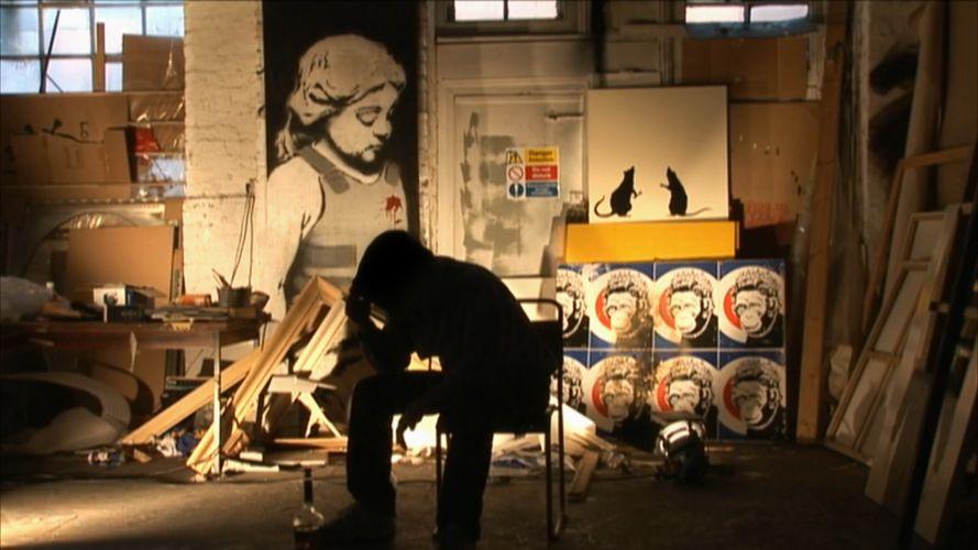 documentari su banksy scena film
