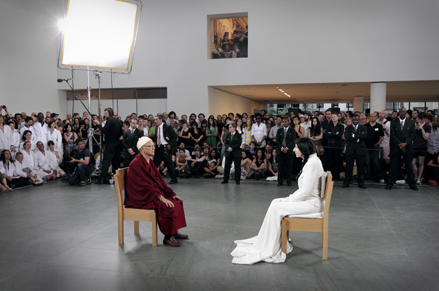 the cleaner di marina abramovic