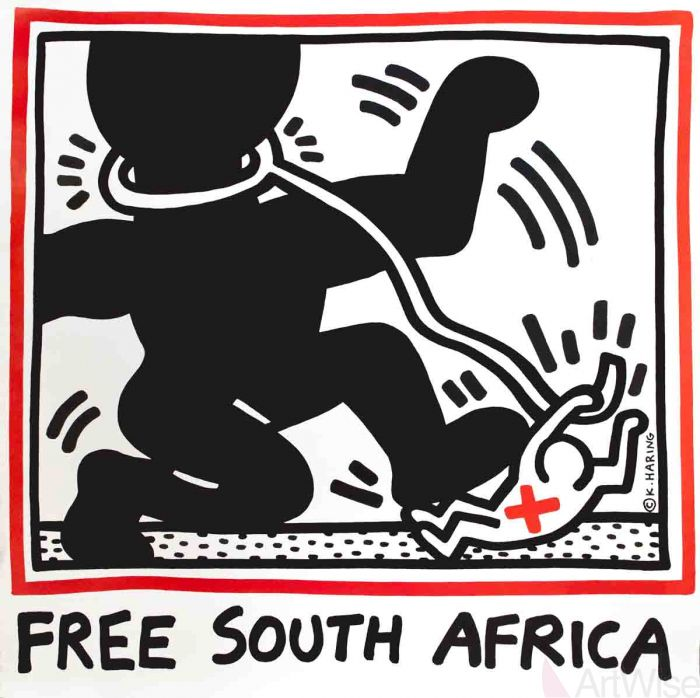 opere piu famose di keith haring free south africa