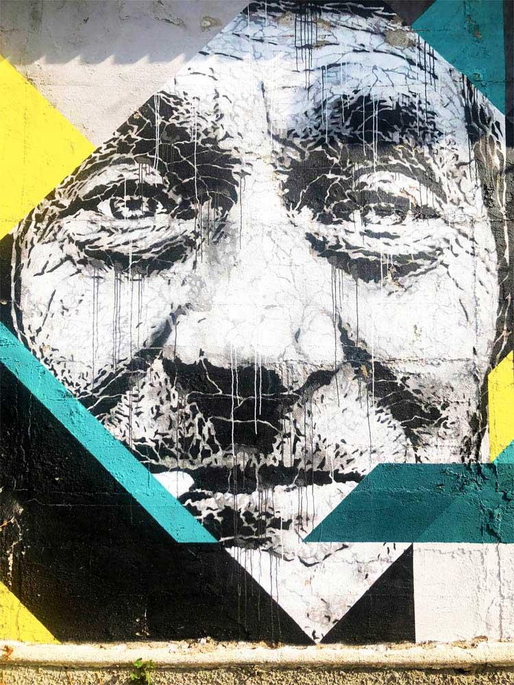 bergamo street art Joao Samina