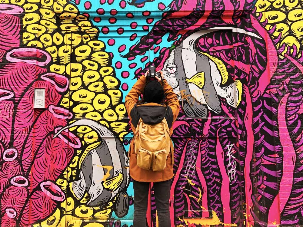 Graffiti E Murales Sono La Stessa Cosa