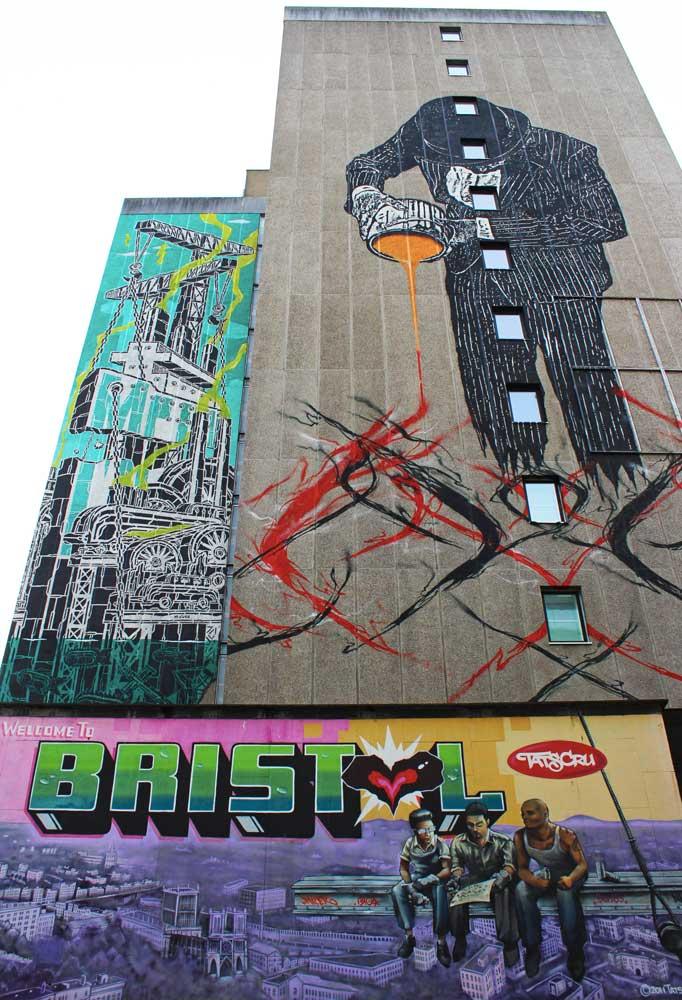 street art a bristol opere