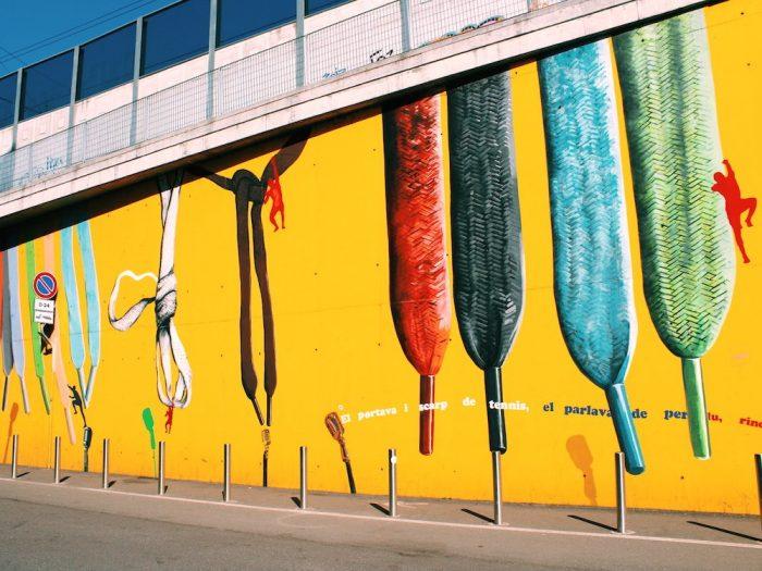 street art con l'autore