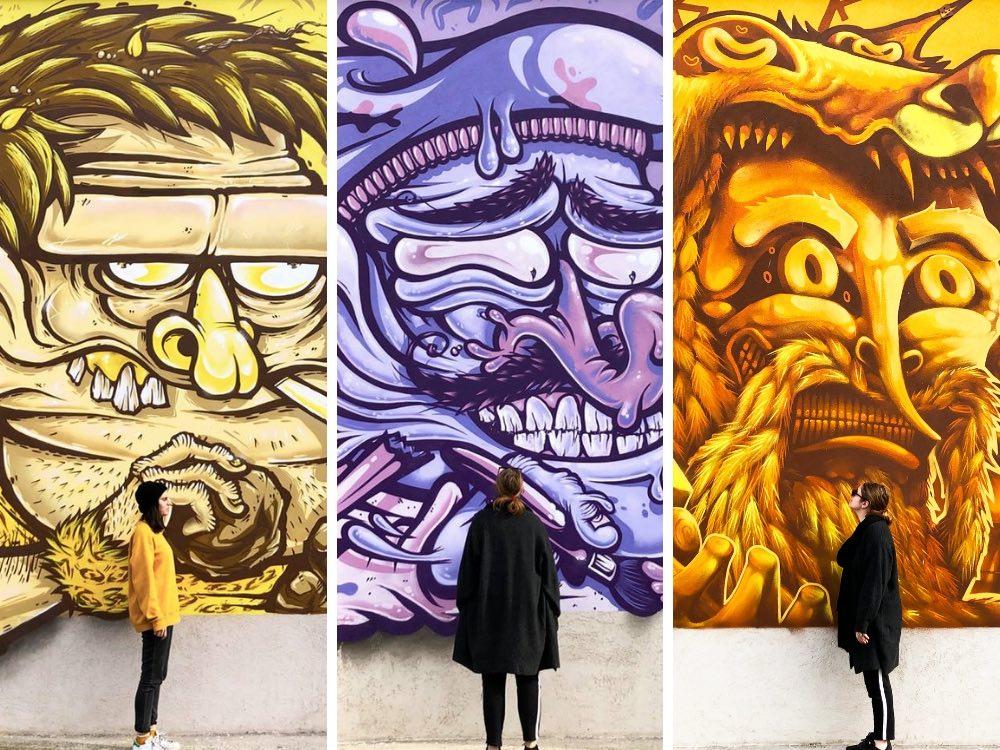 10 opere di street art preferite in Italia