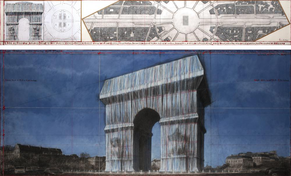 L'Arc de Triomphe, Wrapped - Christo