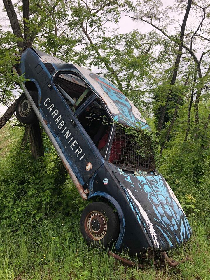 street art a mutonia auto