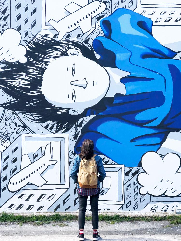 street art porto civitanova marche vedo a colori millo