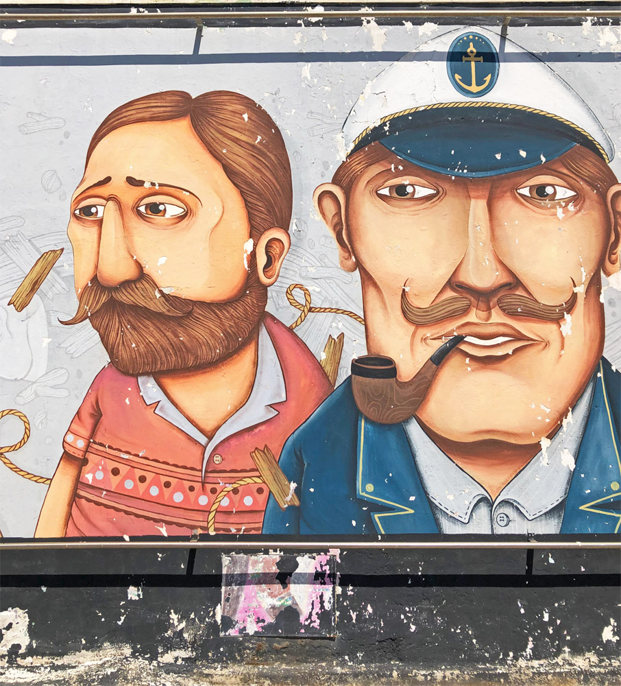 street art porto civitanova marche vedo a colori seacreative