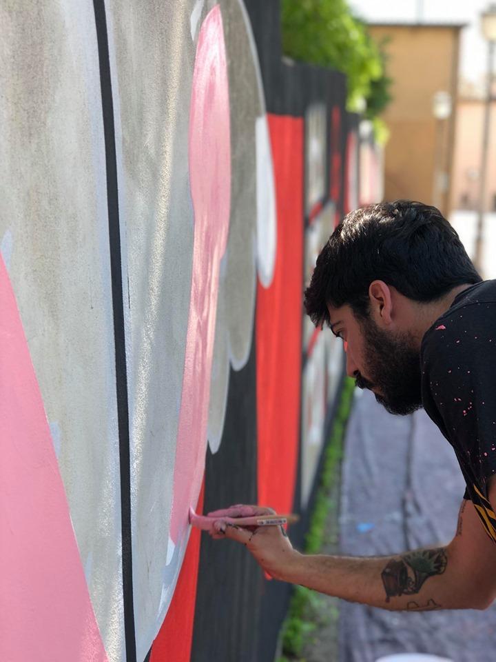 street art a gradara carlo