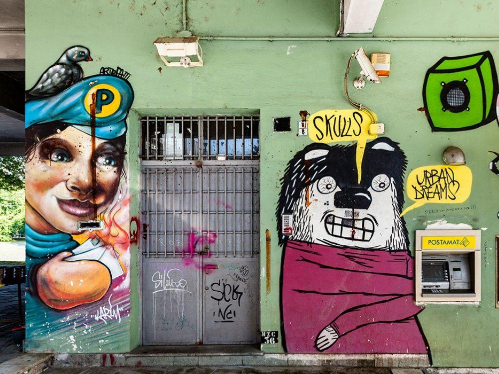 street art a torino muro maua