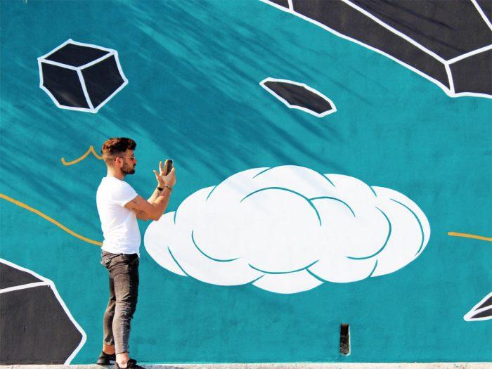 street art gradara andreco murales
