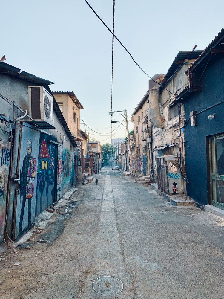 tel aviv cosa vedere florentin urban art