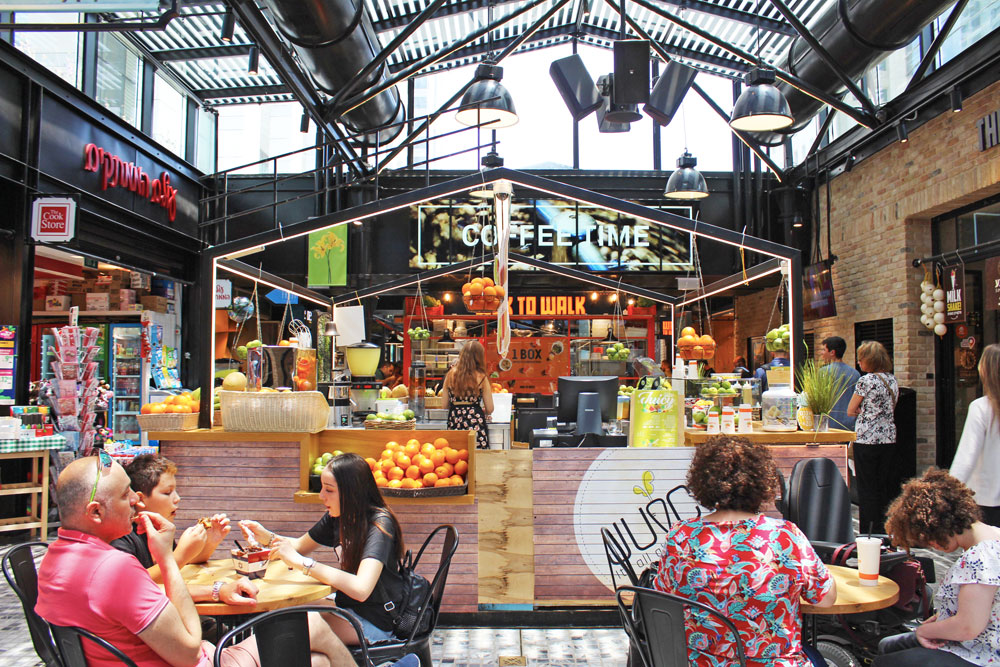 tel aviv cosa vedere sarona market dove mangiare