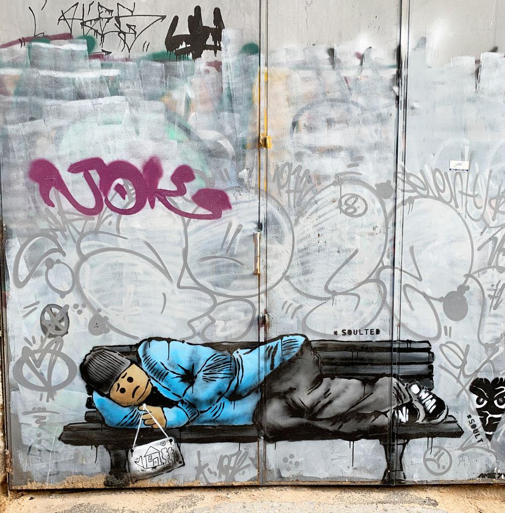 tel aviv cosa vedere street art lego