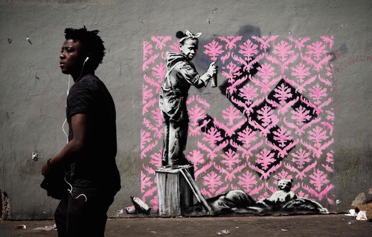 Banksy muro