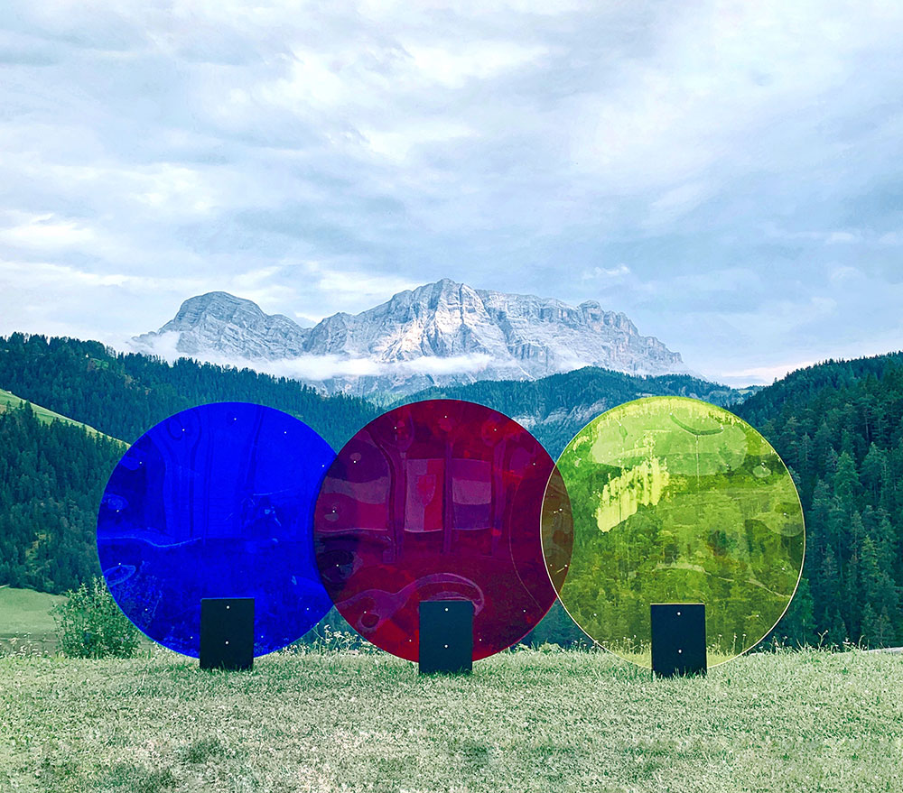 smach land art dolomiti