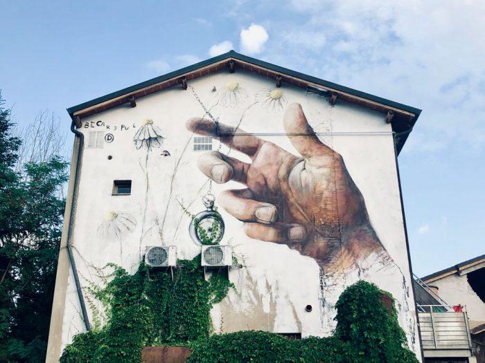 street art reggio emilia cavriago cremeria