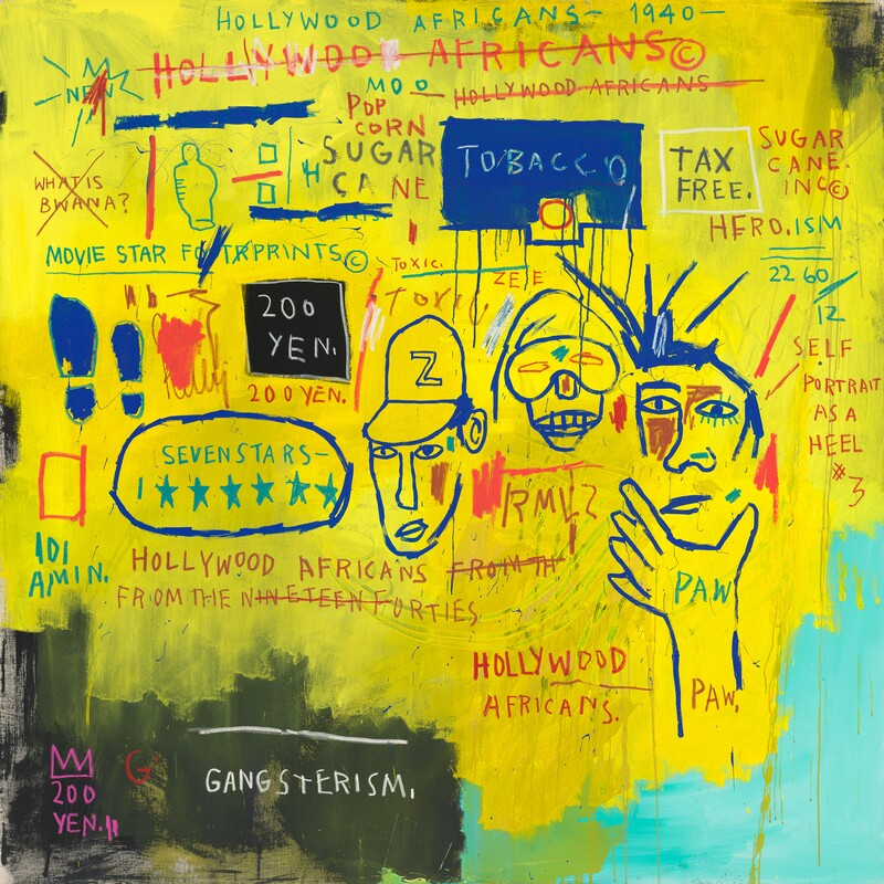 jean-michel basquiat hollywood africans