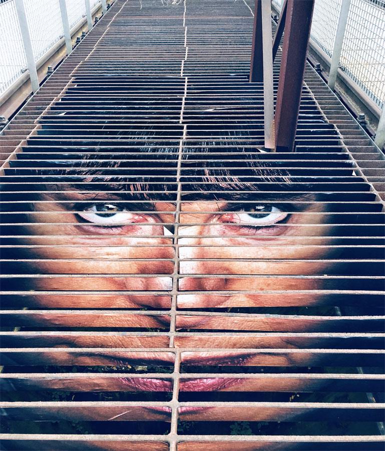 UrbanArt Biennale Völklingen mentalgassi dettaglio opera