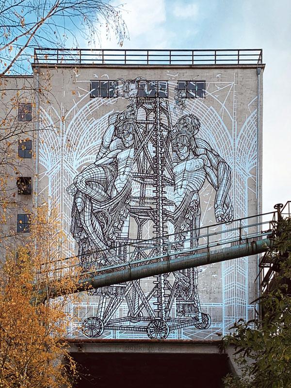 UrbanArt Biennale Völklingen monkeybird opera arte