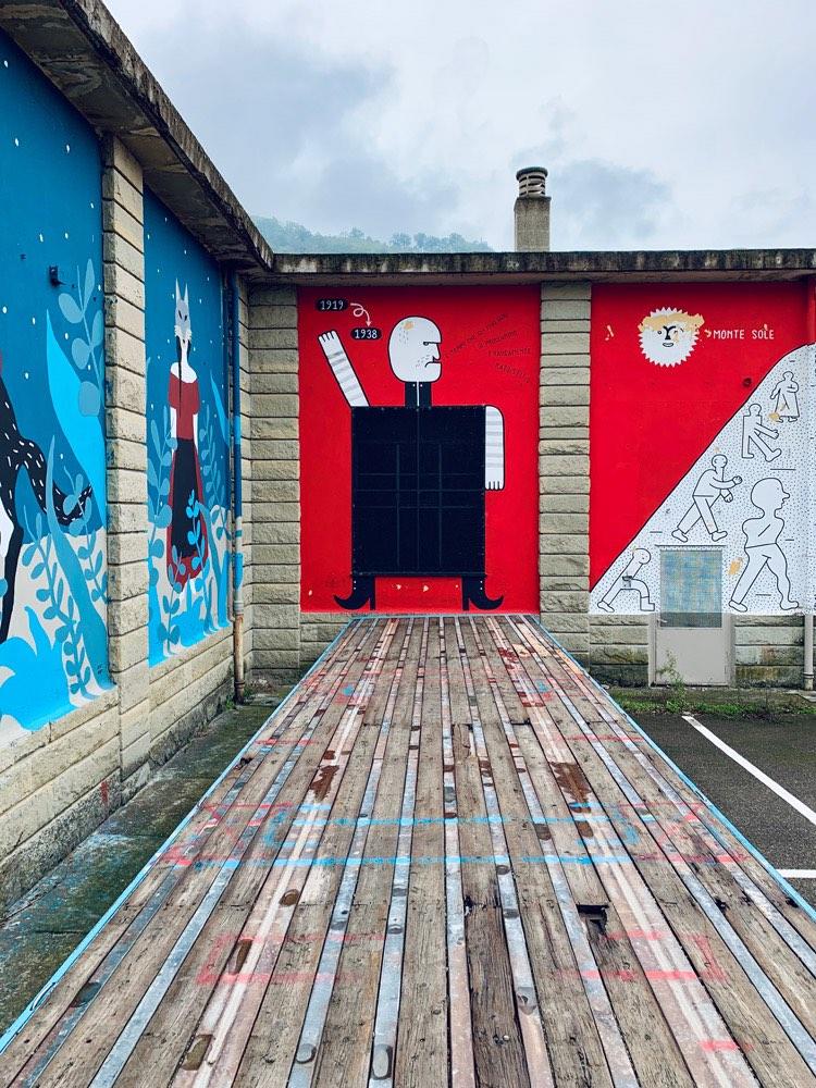 pennelli ribelli festival street art marzabotto kiki skipi e guerrilla spam