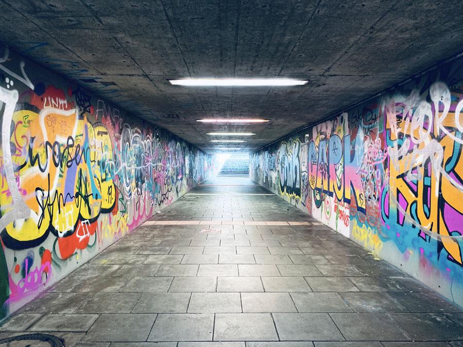 stoccarda cosa vedere hall of fame graffiti